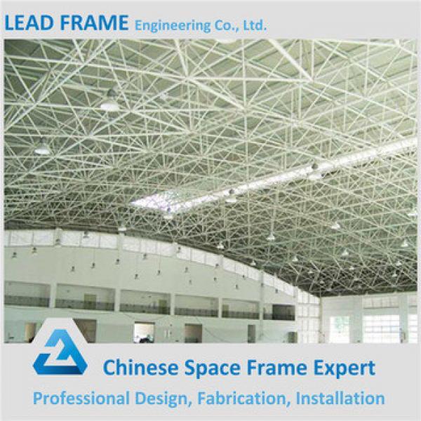 Light Gauge Steel Structure Large Span Steel Factory Workshop Shed Space Grid Frame Fast Building Construction #1 image