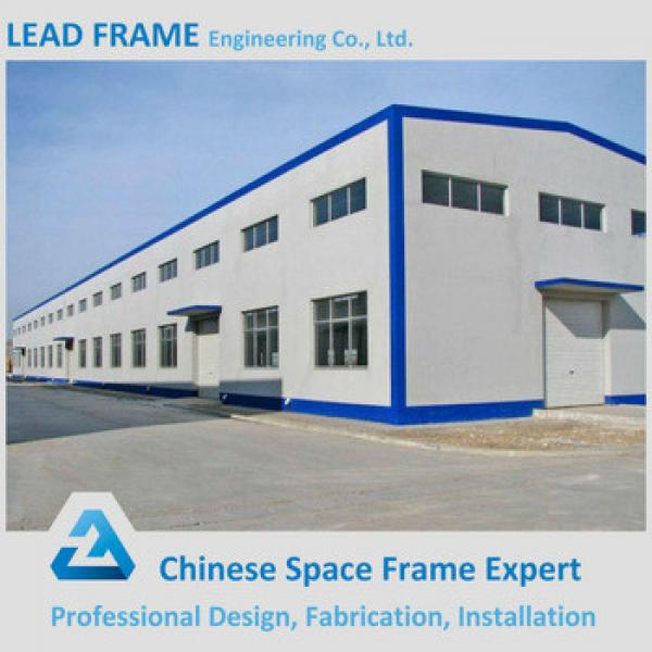 Long span steel roof truss design for factory building #1 image