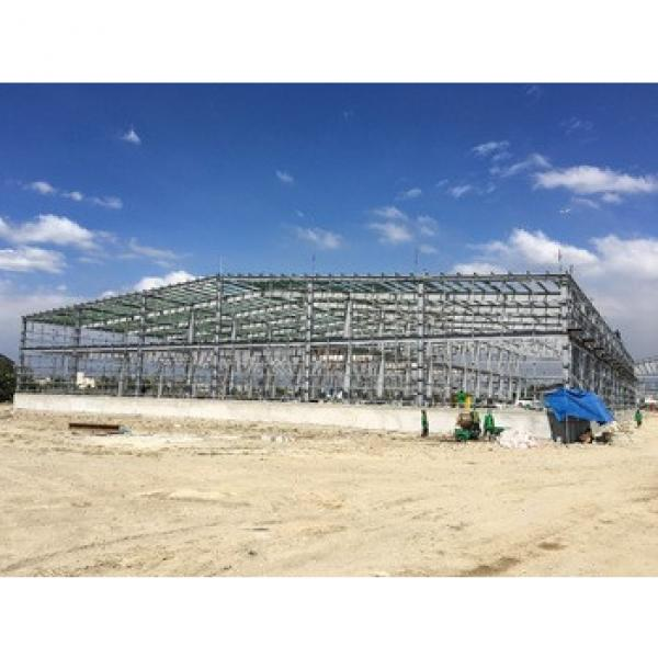 low cost factory steel structure workshop building for sale #1 image