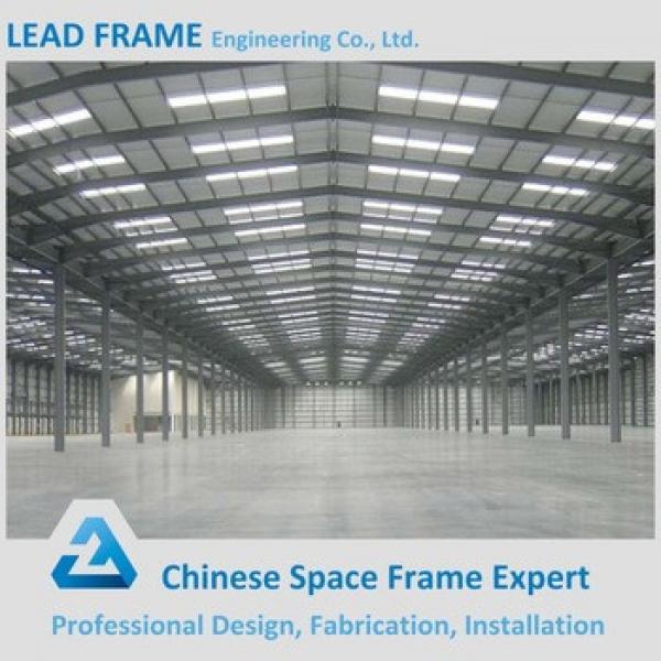 Prefab Workshop Portal Frame Tubular Steel Structure #1 image