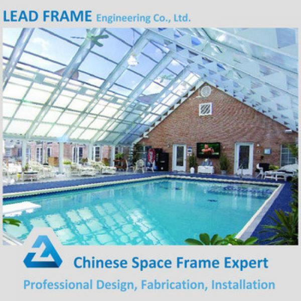 Canopy For Pool With Steel Space Frame Structure #1 image