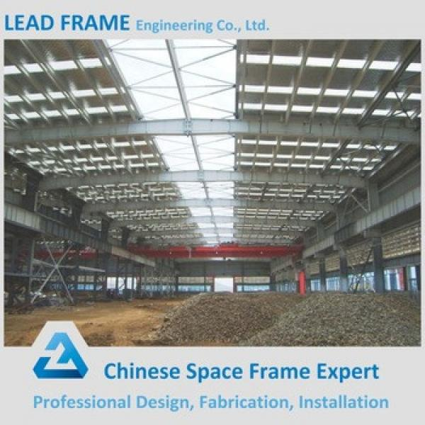 Prefab Steel Warehouse With Single Sheet Roof #1 image