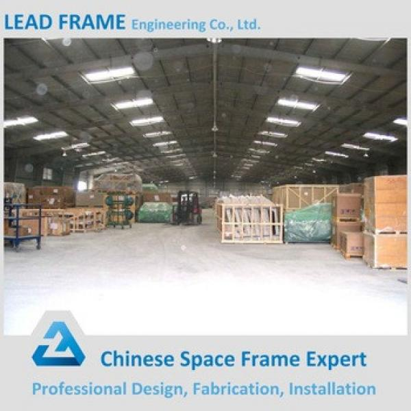 Large Span Prefab Steel Warehouse Made in China #1 image