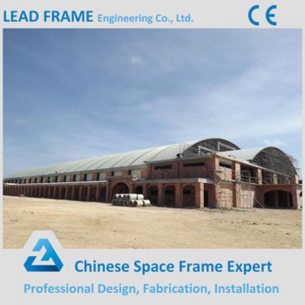 Waterproof Prefab space frame swimming pool roof #1 image