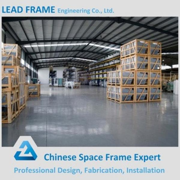 Light Frame Tubular Steel Structure for Workshop and Warehouse #1 image