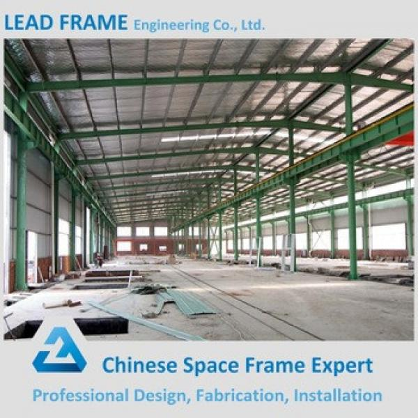 Famous Steel Frame Warehouse Metal Building With Roof Sheeting #1 image