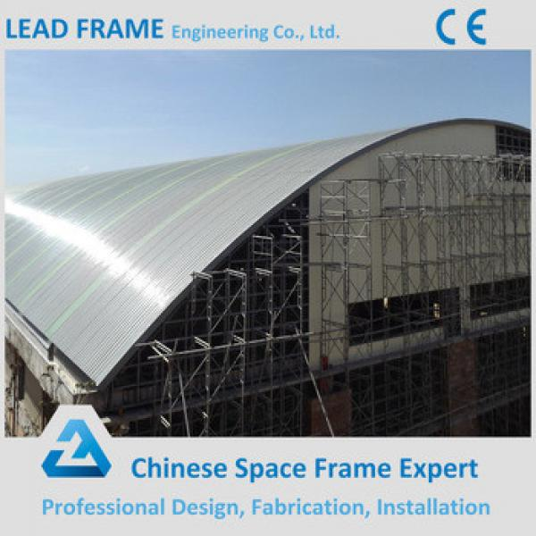 Pre engineered space frame steel arch building #1 image