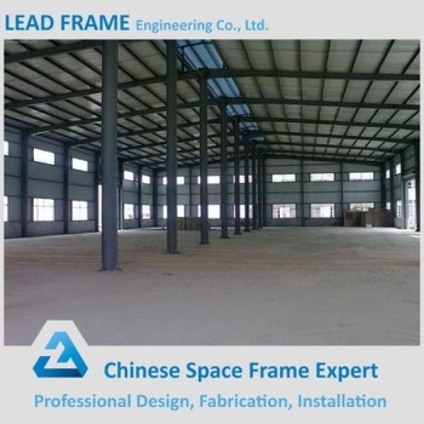 long span prefabricated fast building construction for workshop #1 image