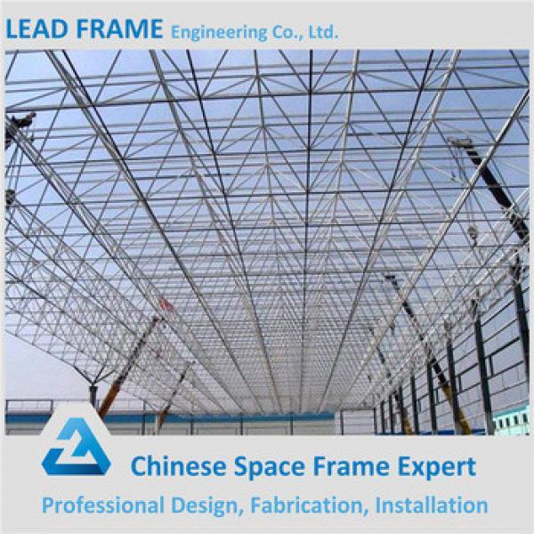 Steel building space frame parts tubular steel frame #1 image