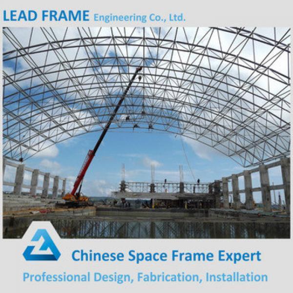 Prefab Large Span Steel Swimming Pool Canopy #1 image