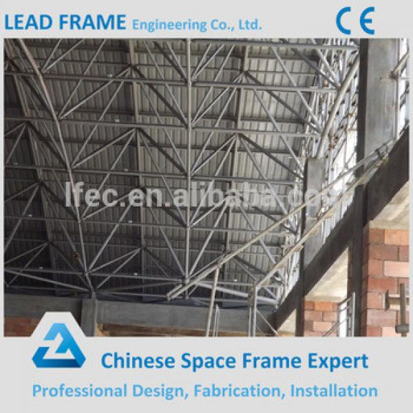 Steel truss structure space frame swimming pool roof #1 image