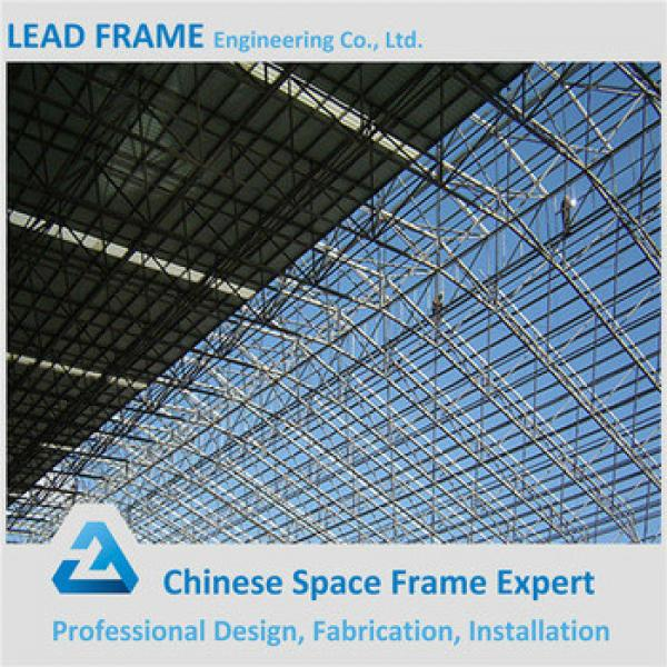 Anti Corrosive Paint Space Frame Prefabricated Steel Building #1 image