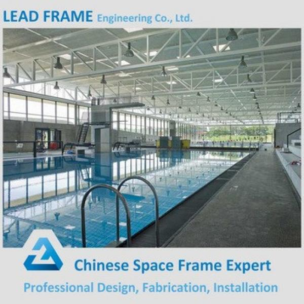 Pre engineering space frame swimming pool construction #1 image