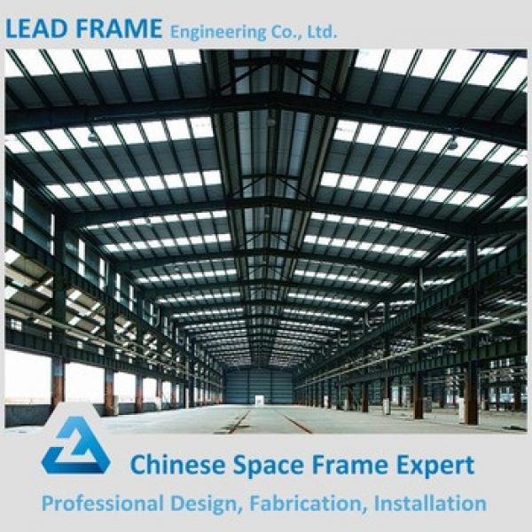 Prefab Workshop Building Galvanized Steel Structure #1 image