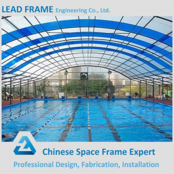 Galvanized steel roof structure prefabricated swimming pool canopy #1 image