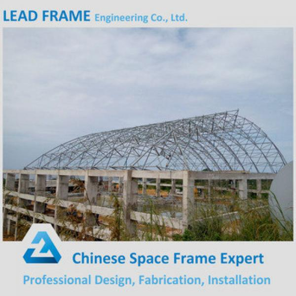 Best Design Hot Dip Galvanized Arch Roof Steel Truss Swimming Pool Canopy #1 image