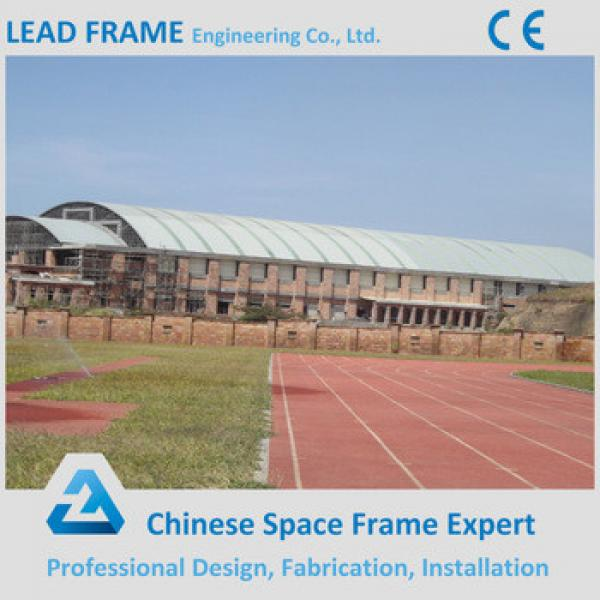 Prefab space frame swimming pool roof #1 image