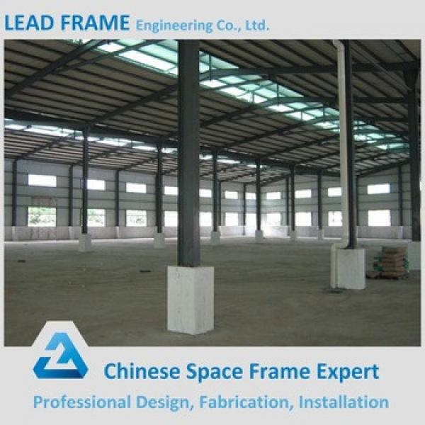 Stable Durable Large Span Steel Frame Structure With Steel Roof System #1 image