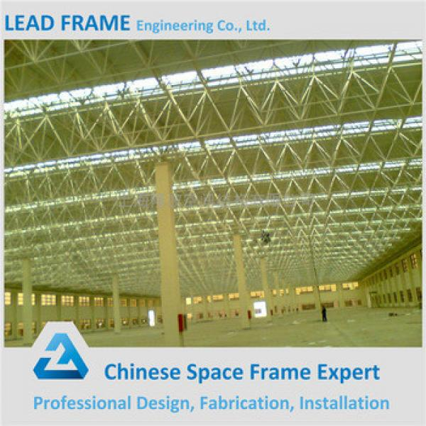 Strong Wind Resistant Space Frame Prefabricated Steel Building #1 image