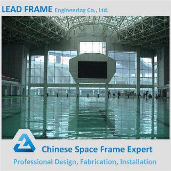 steel space frame prefabricated swimming pool roof #1 image