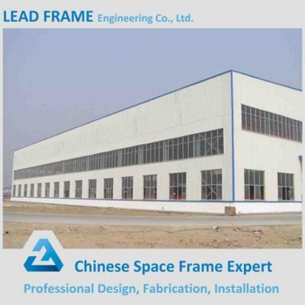 Wide Span Design Steel Structure Workshop with CE Certificate #1 image