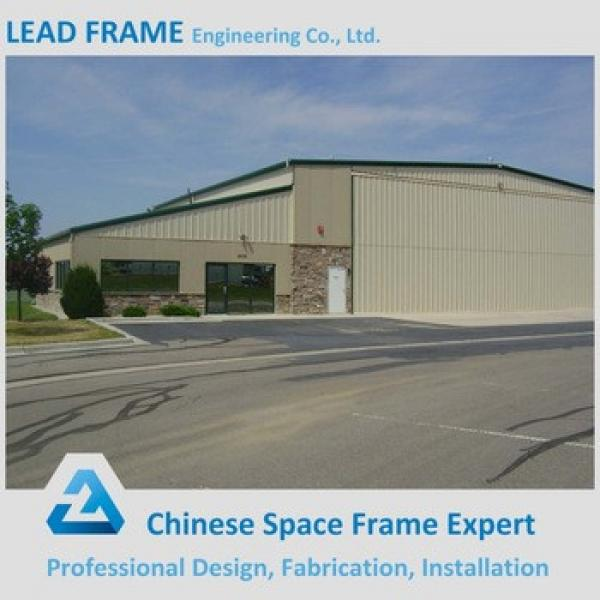 Sandwich Panel Insulated Prefabricated Steel Structure Workshop #1 image