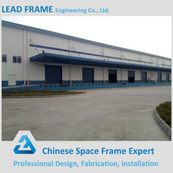 Prefabricated steel frame warehouse #1 image