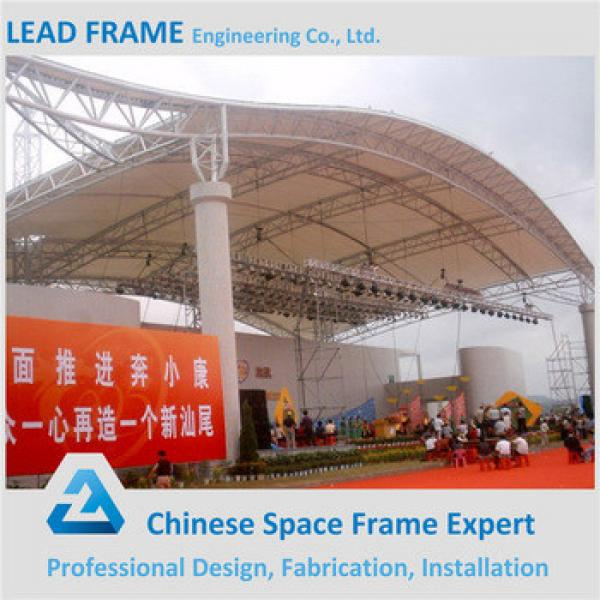Strong Wind Resistant Space Frame Truss Design Pool Cover #1 image