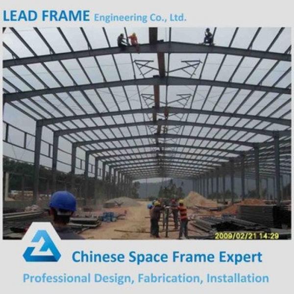Modern Prefab Professional Design Steel Structure Workshop #1 image