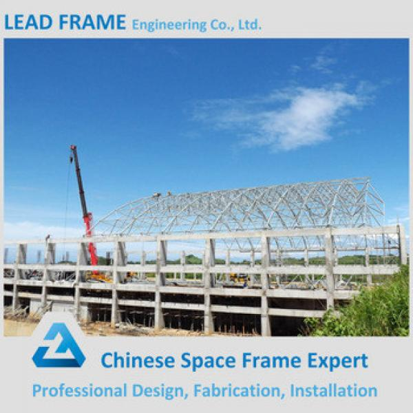 Prefab Light Structure Swimming Pool Canopy Made in China #1 image