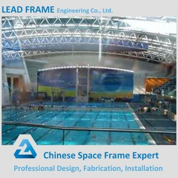 Light Steel Roof Trusses Prices Swimming Pool Roof #1 image