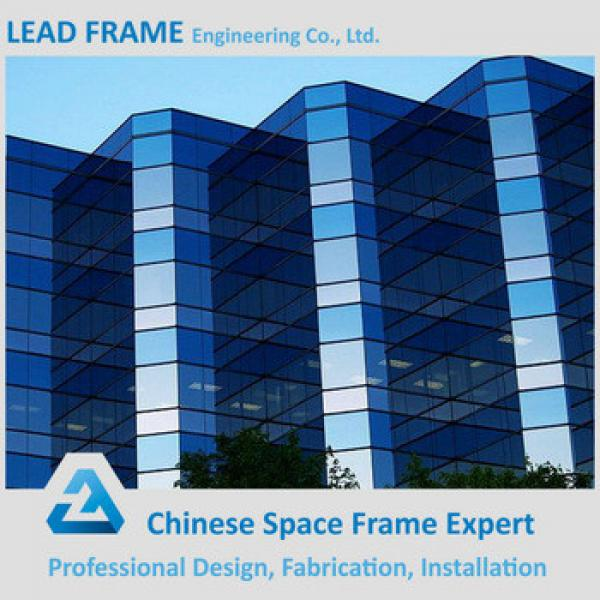 Fast Assembling Low Cost Steel Glass Curtain Wall Prices #1 image
