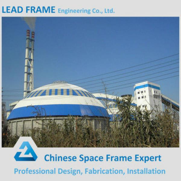 steel structure steel space coal storage shed as warehouse roof steel frame #1 image