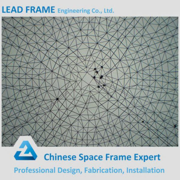 Galvanized waterproof space frame structure for coal shed #1 image
