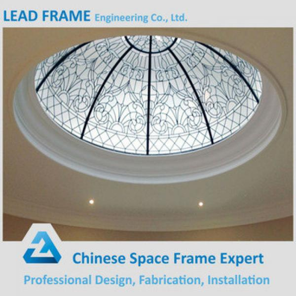 Pre-engineering Windproof Large Span Steel Structure Space Frame Skylight Dome #1 image