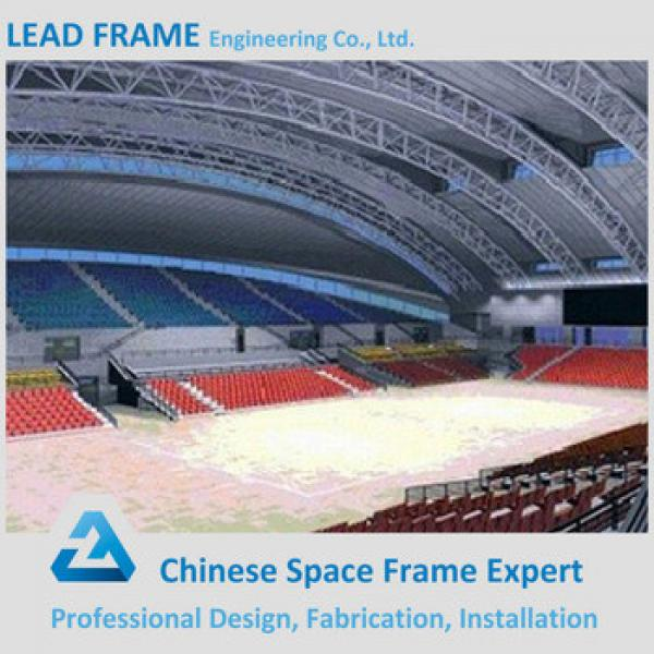 Pre engineer Long Span Space Structure Stadium Steel Roof Truss Design #1 image