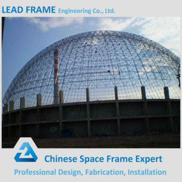 High Rise Steel Ftaming Double Layer Grid Space Frame Coal Bunker #1 image