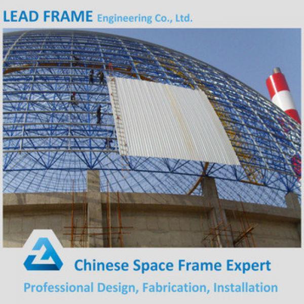 Prefab Wide Span Steel Space Frame Construction Storage Shed #1 image