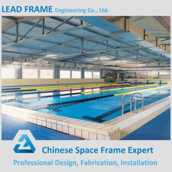 UV Resistant Steel Roof Trusses Prices Swimming Pool Roof #1 image
