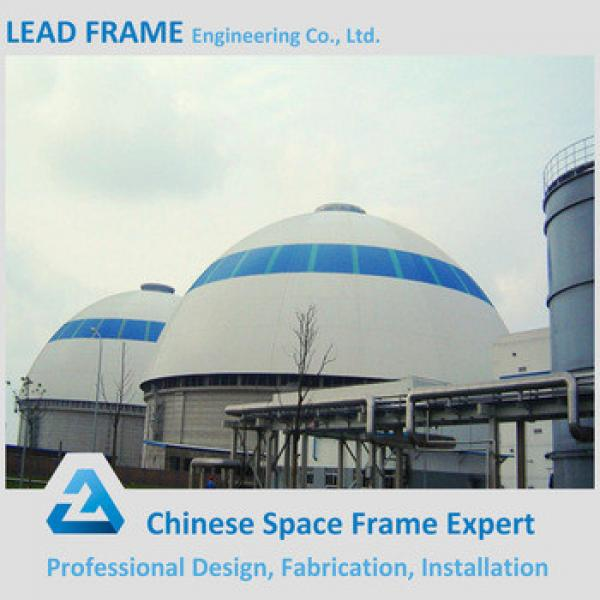 Prefab Steel Space Frame Structure Limestone Dome Storage #1 image