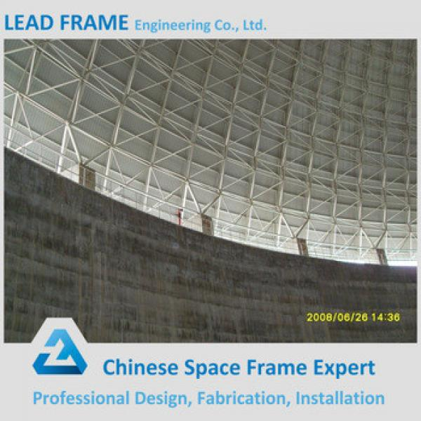 C Section Steel Frame For Light Weight Space Frame Structure Building #1 image