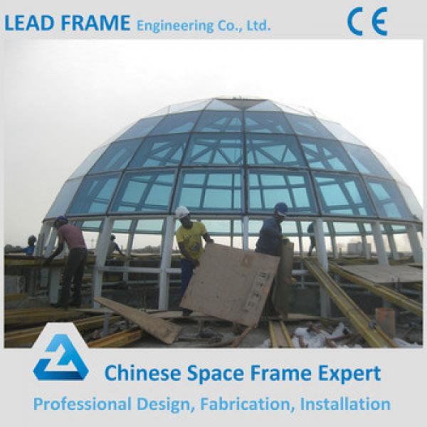 Large Scale Light Self-weihgt Steel Structure Building Glass Dome for Hot Sale #1 image