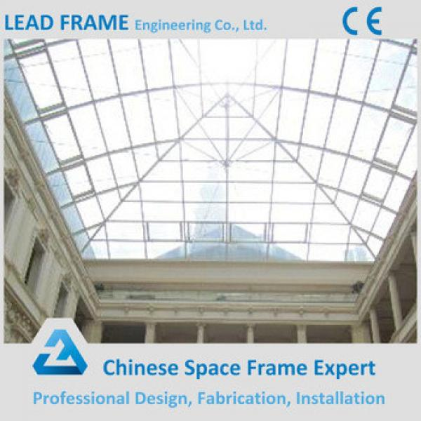 Light Steel Space Frame Structure Glass Roof Dome #1 image