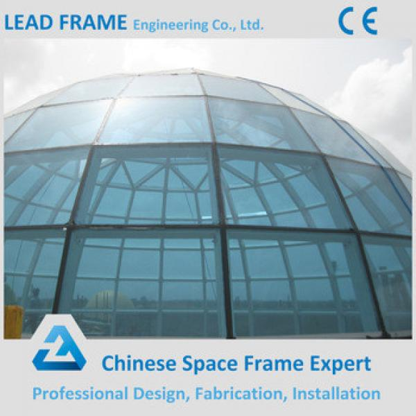 Space Frame Structural Long Span Building Glass Dome #1 image