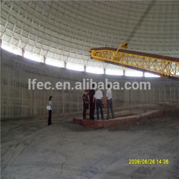 Aesthetic Large Span Space Frame Coal Storage bin #1 image