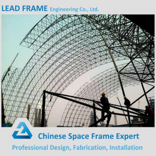 Steel Space Frame Coal Shed Arched Roof with High Standard #1 image