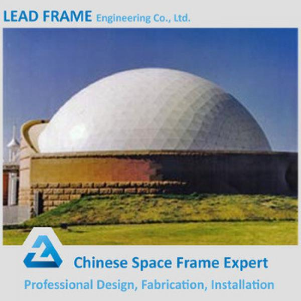 High Strength Lightweight Durable Barrel Type Space Frame Skylight Dome #1 image