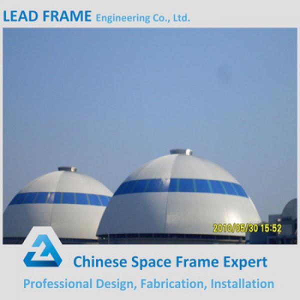 Strong Steel Space Frame Structure Limestone Dome Storage #1 image