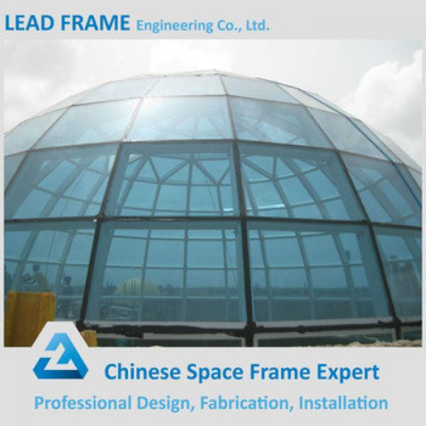 Free Design Flexible Structure Steel Structure Space Frame Glass Roof Dome #1 image