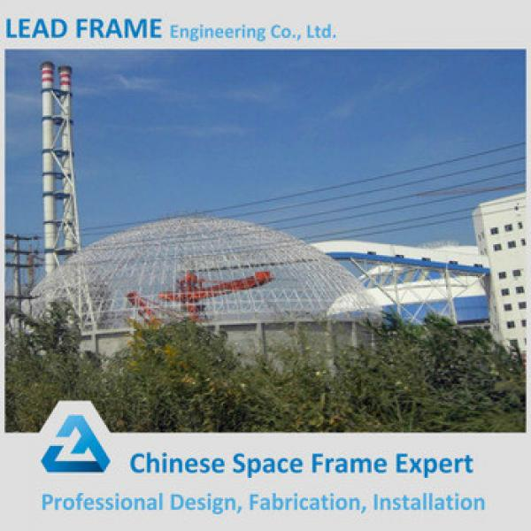 Good quality steel structure dome storage building for coal field #1 image